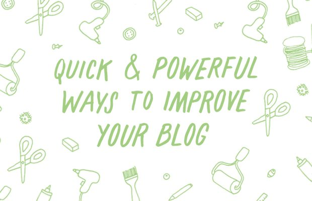Increase traffic to your blog, grow your readership, and build your business with thee tips for blogging.