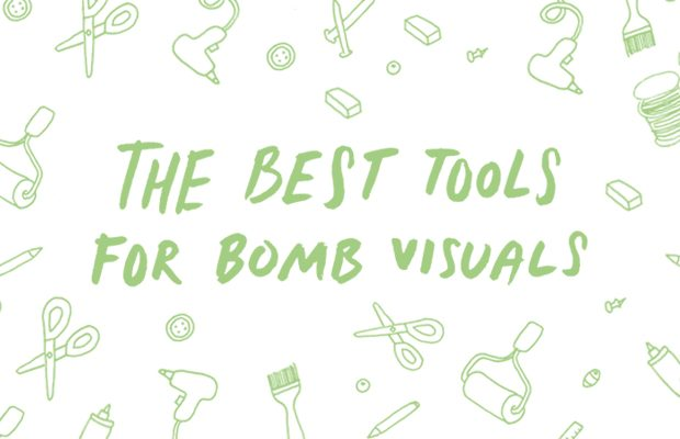Learn how to pros create graphics to support their creative business.