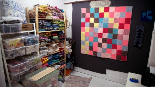 Get an inside look at Blair Stocker's quilting studio on the CreativeLive blog.