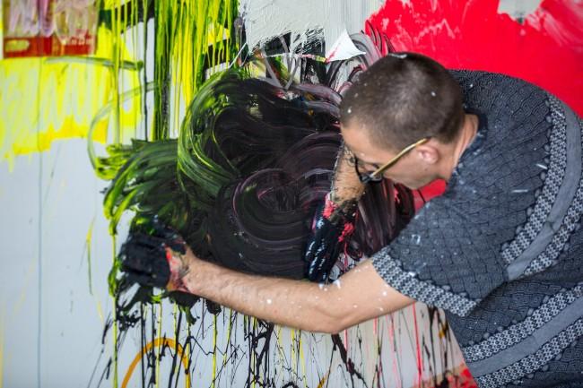 Justin Kane Elder Mural Hands