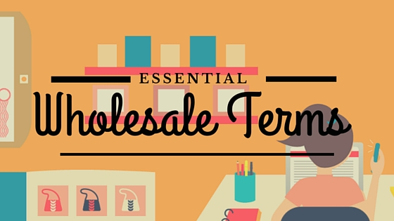 Learn essential wholesale terms from Katie Hunt on the CreativeLive blog!