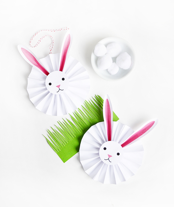 Whether you celebrate Easter, or just love a home full of fluffy bunnies, this round-up of spring paper crafts is for you!