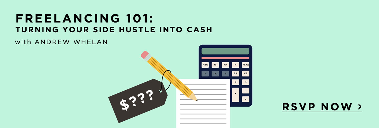 Learn how to turn your side hustle into cash with this LIVE and FREE class!