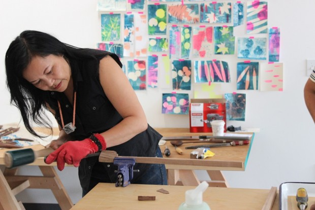 Professional maker and craft teacher, Windy Chien dishes on how to teach a sold out craft class.