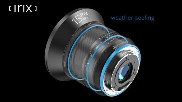 Irix 15mm f/2.4 ultra wide angle lens