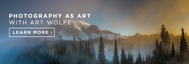 Banner image to Art Wolfe's class on CreativeLive