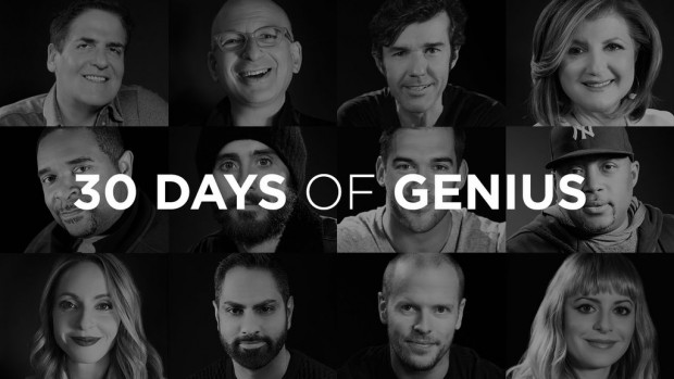 30 Days of Genius on CreativeLive with Chase Jarvis