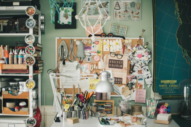 Take a look inside Robert Mahar's inspiring studio. Check out the complete photo collection on the CreativeLive blog.