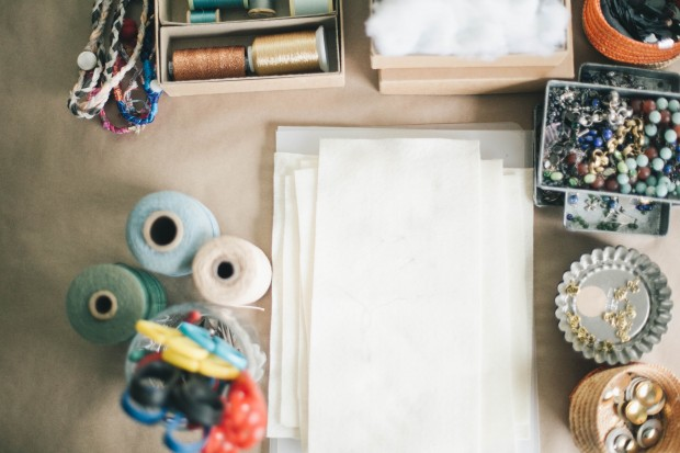 A look inside the studio of Molly Meng.