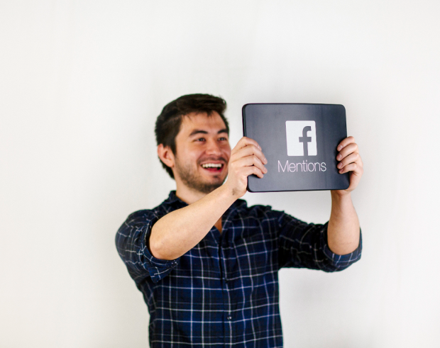 Facebook Mentions Device iStrategyLabs