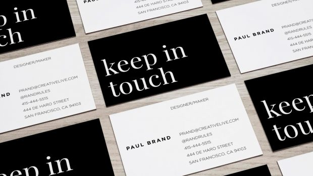Get more mileage out of your business cards with these tips on handing out business cards from the CreativeLive blog.