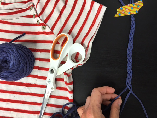 Learn how to make a t shirt bag on the CreativeLive blog.