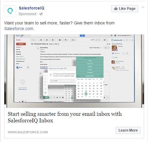How to Increase Facebook Marketing Conversion Rates with Thematically Matched Images Salesforce IQ