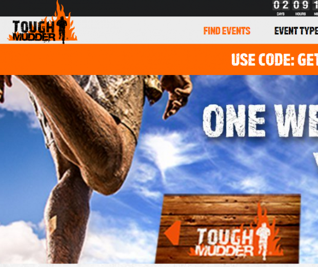 How to Increase Facebook Marketing Conversion Rates with Thematically Matched Images Tough Mudder Small