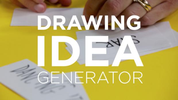 Homemade Drawing Idea Generator