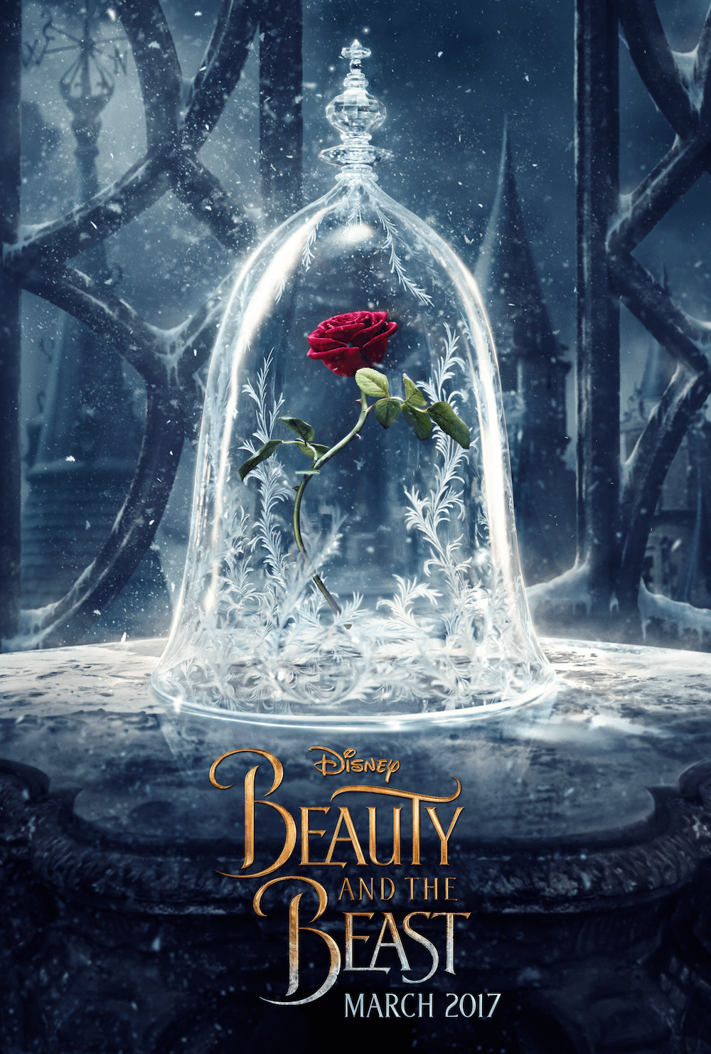 Beauty The Beast Poster Design Not So Enchanted Rose