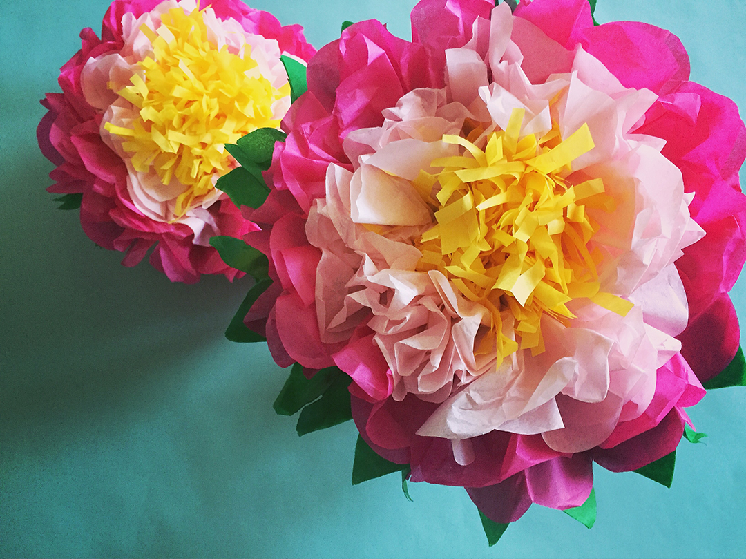 How To Make A Tissue Paper Flower A Dazzling Tutorial