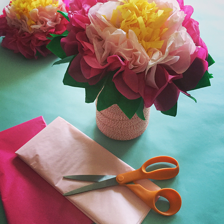 How to make a tissue paper flower a dazzling tutorial maharflowers12 mightylinksfo