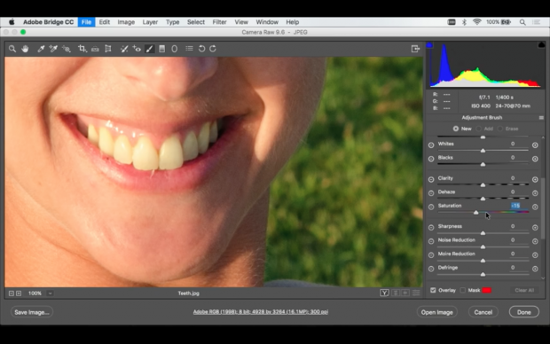 Tutorial Learn How To Whiten Teeth In Photoshop