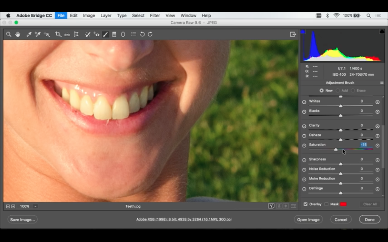 How To Whiten Teeth In Photoshop Video Tutorial With Ben Willmore