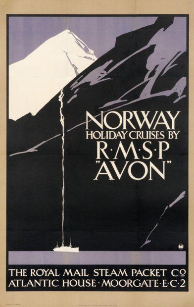 Vintage Travel Posters: Poster Design Inspiration