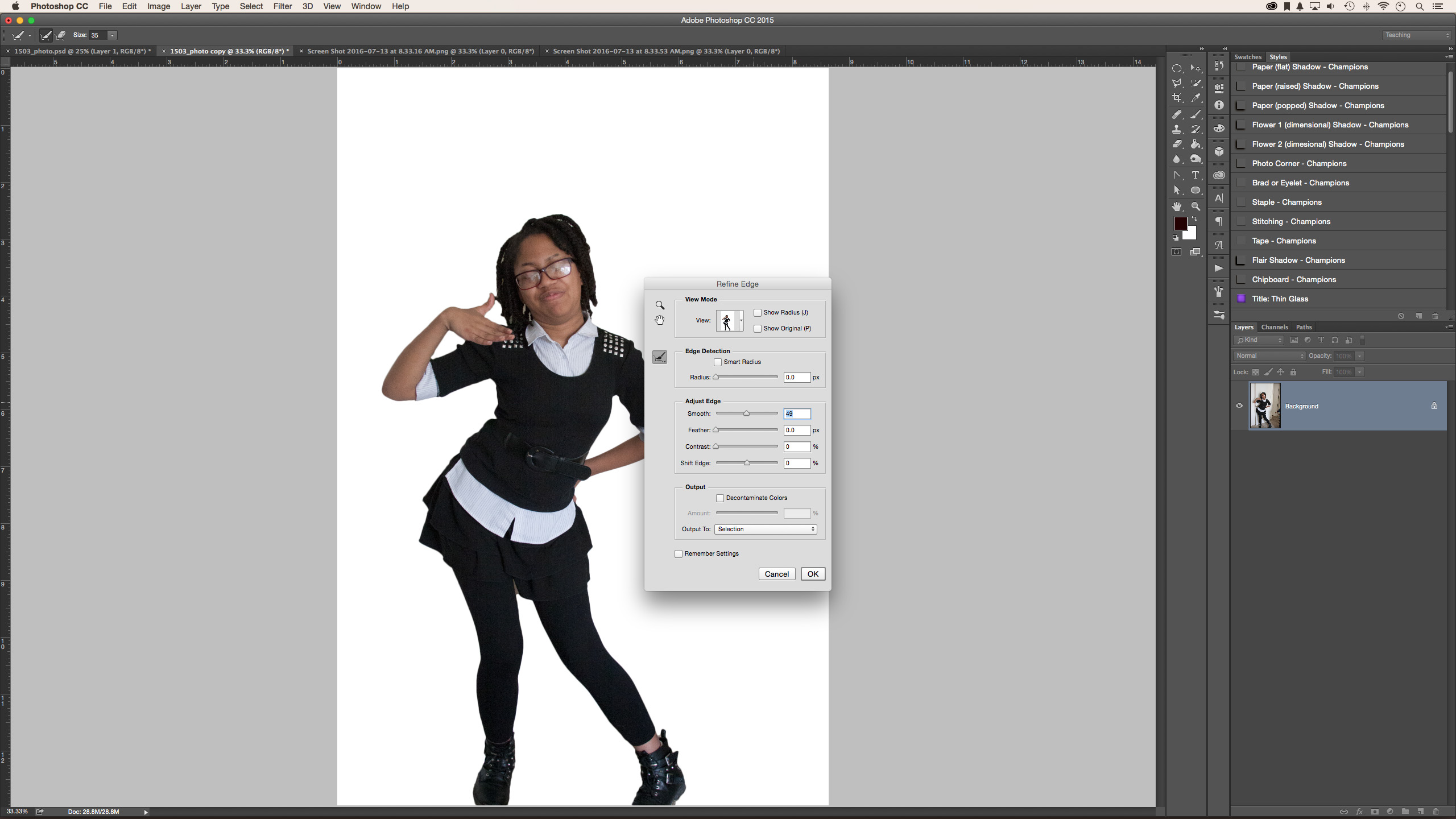 Learn how to remove the background of an image in Photoshop with the complete tutorial on the CreativeLive blog.