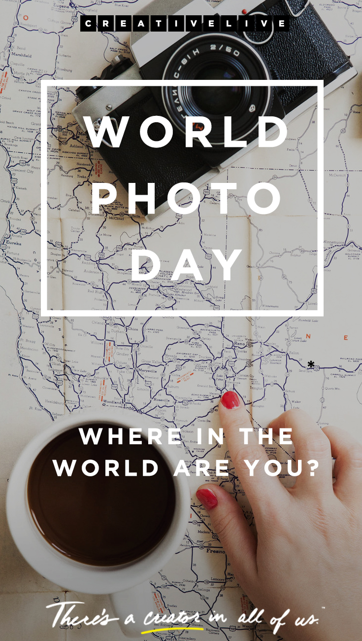 Celebrating World Photo Day at CreativeLive