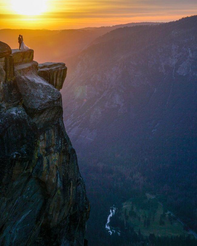 Mike Karas Mystery Couple Yosemite Valley