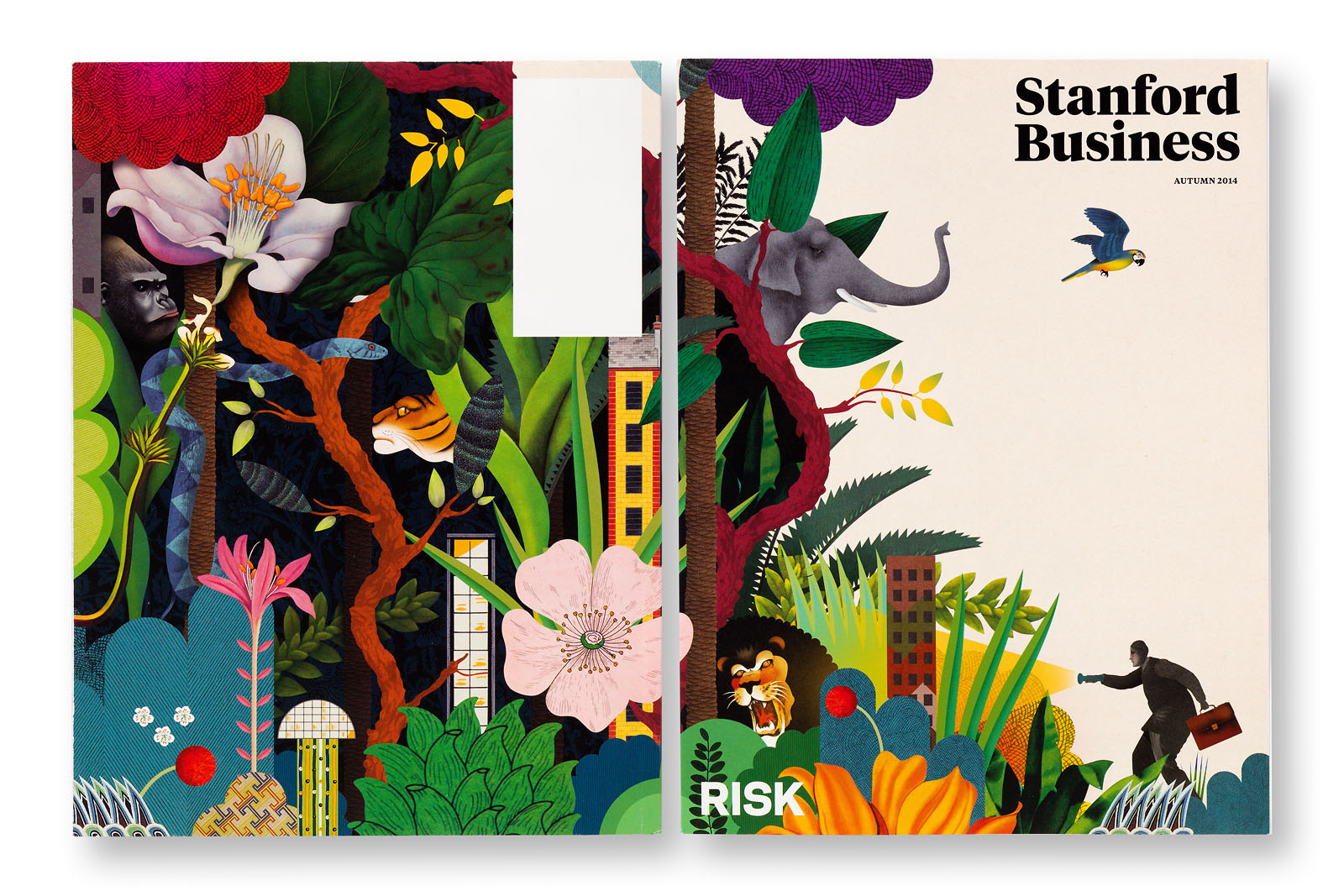 Learn the about the cover design of this issue of Stanford Business.