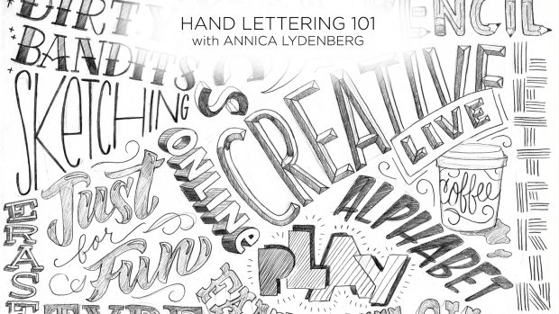 Dont Forget To Check Out Hand Lettering 101 With Annica Lydenberg For The Complete Introduction