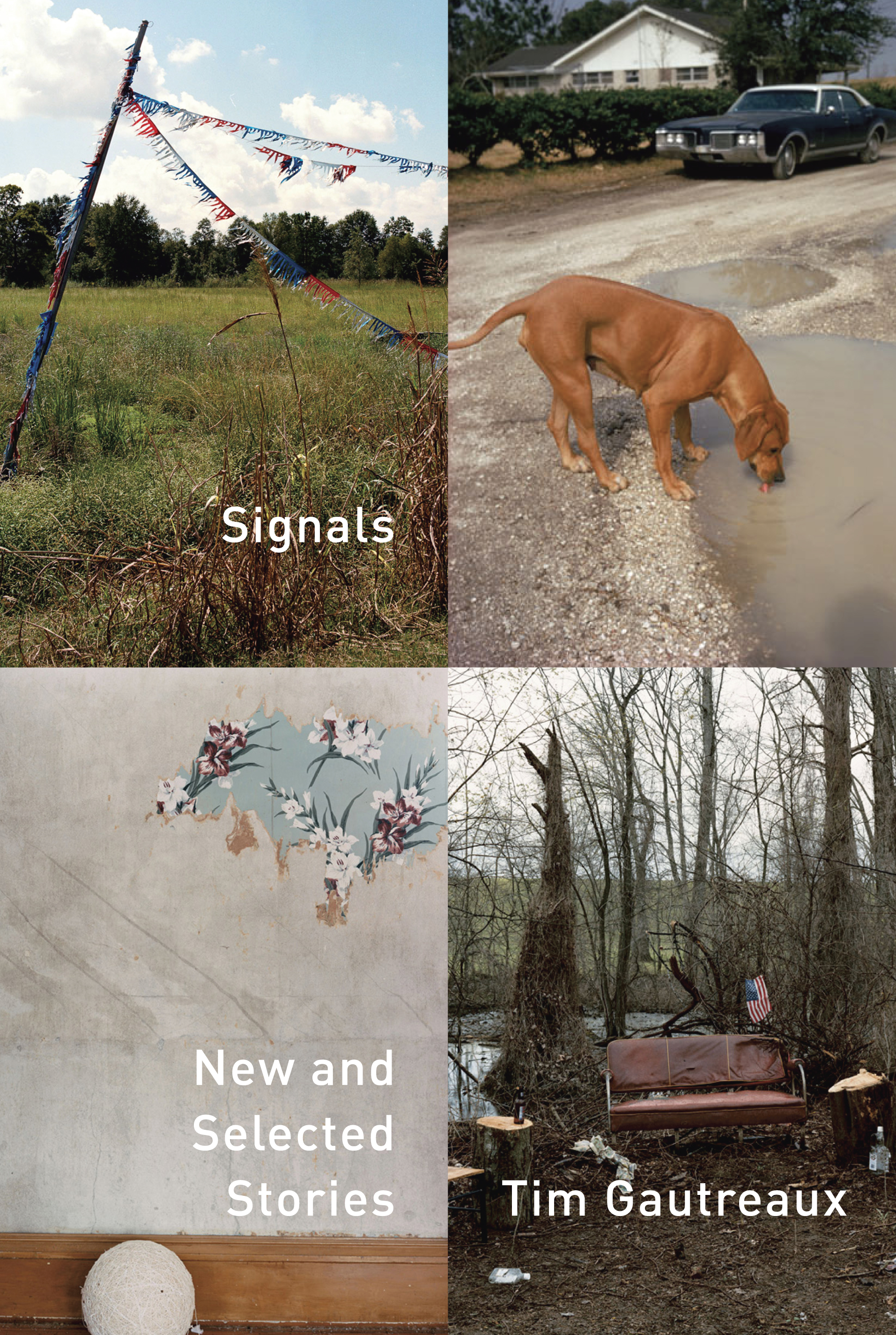 Learn the about the book cover design of Signals: New and Selected Stories