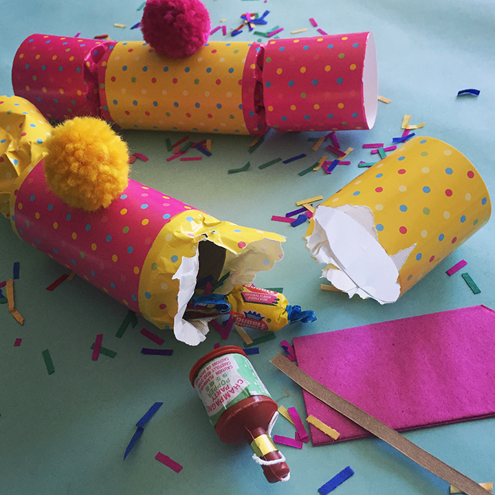 Make your next dinner party more fun with darling diy party crackers party crackers traditionally known as christmas crackers can easily be dressed up as a solutioingenieria Choice Image