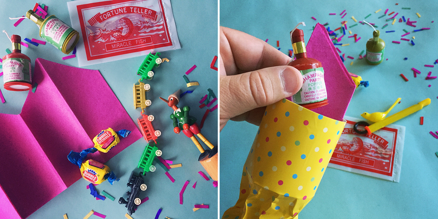 Make your next dinner party more fun with darling diy party crackers party crackers traditionally known as christmas crackers can easily be dressed up as a solutioingenieria Gallery