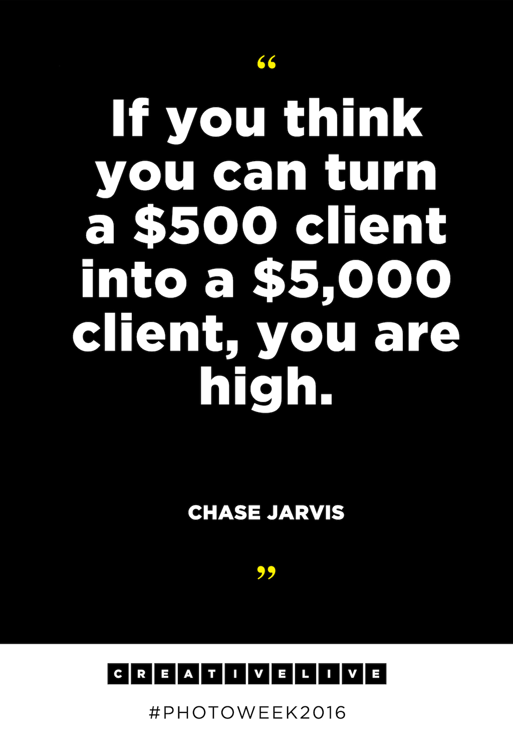 7 Rules Of Life Quote Chase Jarvis Gives Advice To Photographers At Photo Week 2016