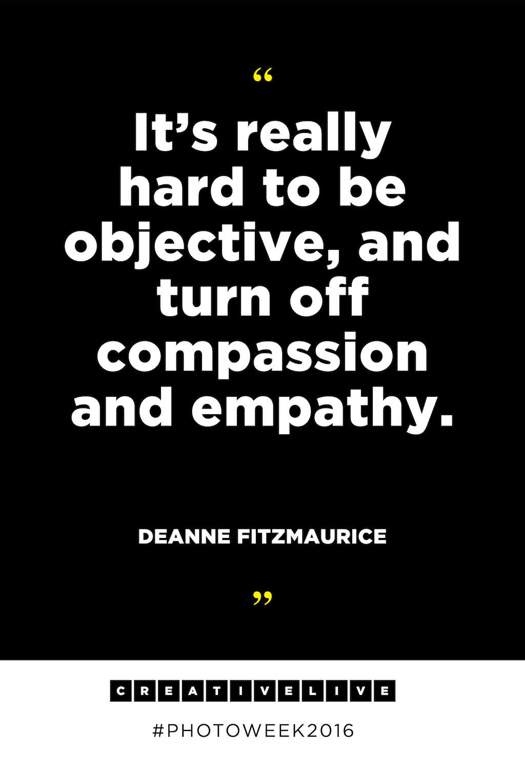Photojournalist Deanne Fitzmaurice\'s Best Inspirational Quotes