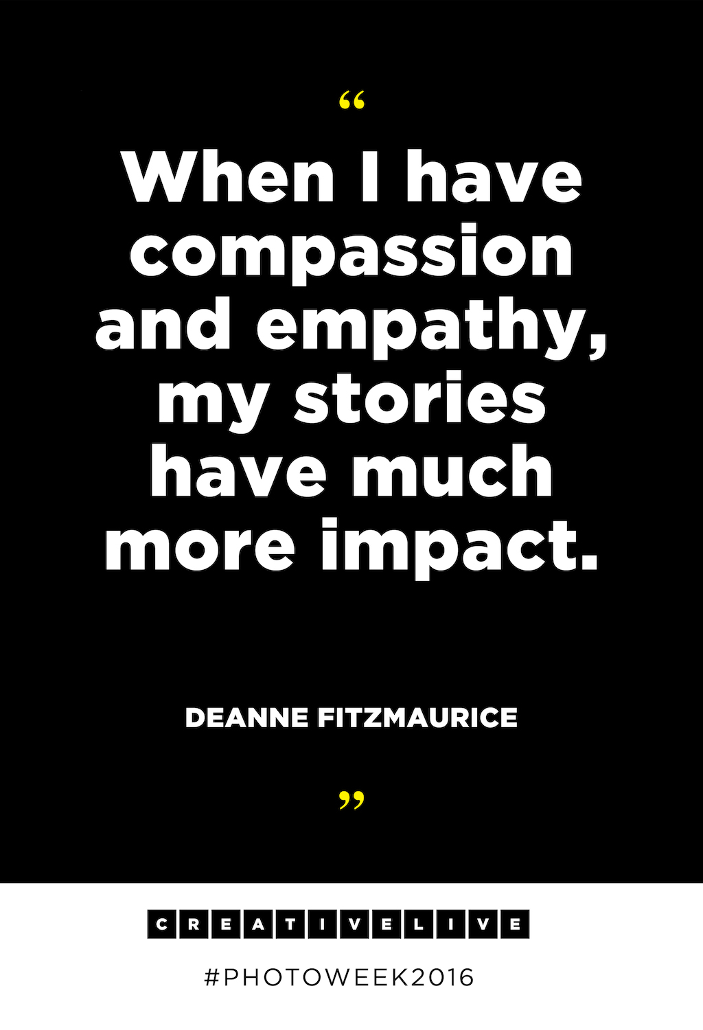 Photojournalist Deanne Fitzmaurices Best Inspirational Quotes