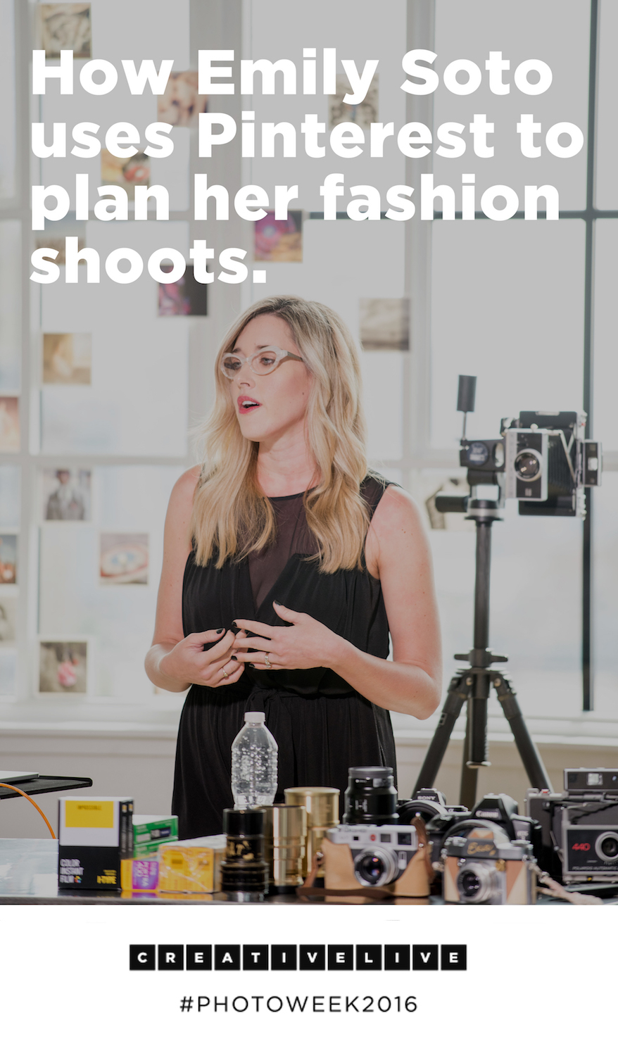 Fashion photographer Emily Soto uses Pinterest to plan her shoots! Find out more in this post.