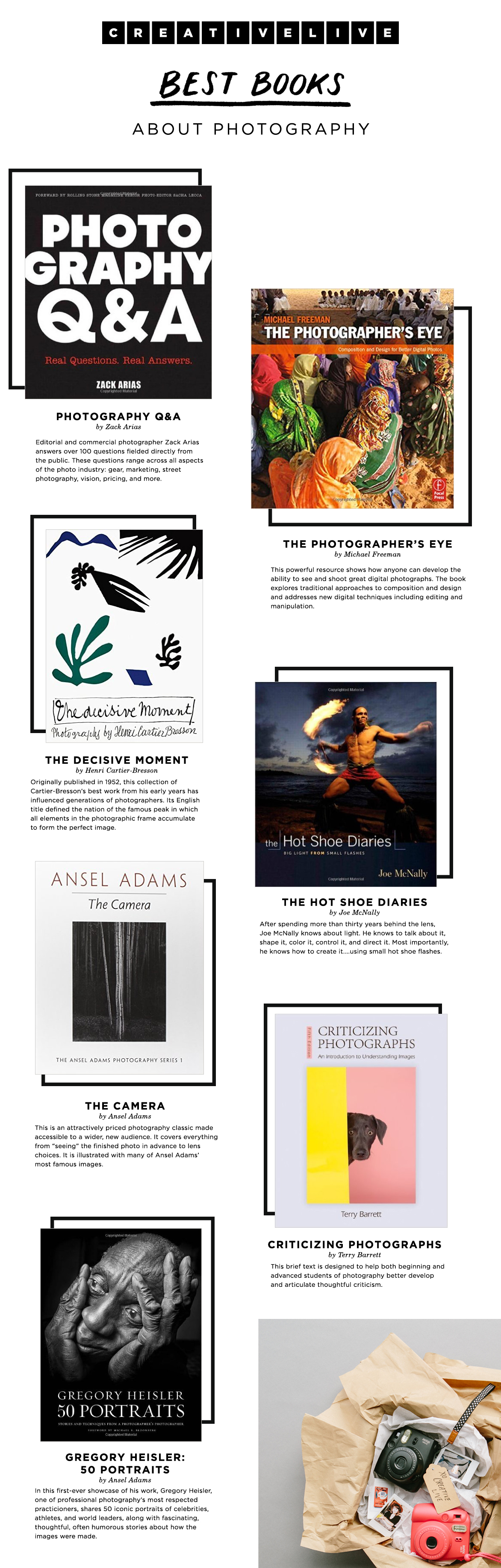 Looking for a gift for a photographer that won't break the bank? Check out these books that are meaningful and beautiful.