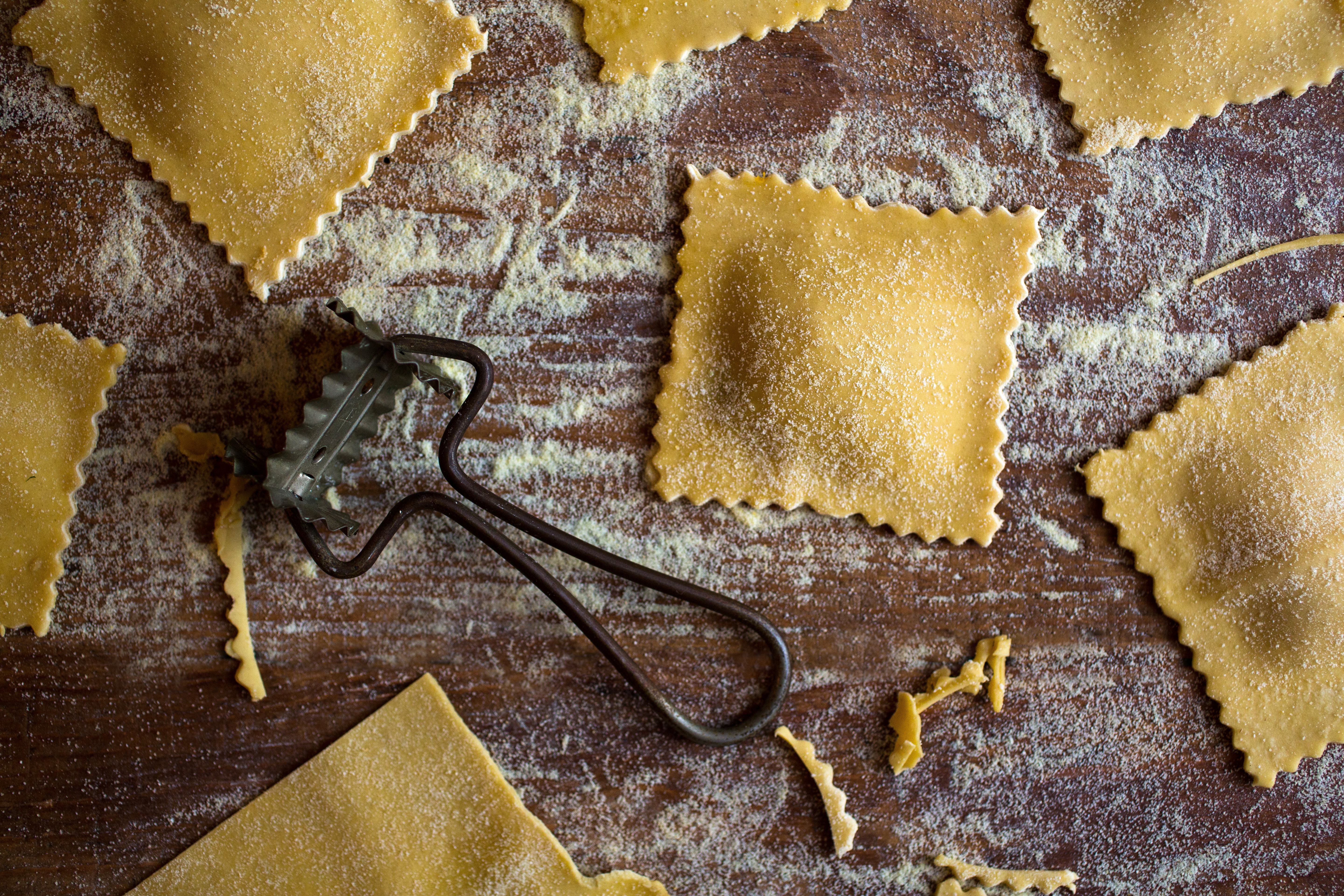 WELL Vegetarian Thanksgiving Reader Recipes Pumpkin Ravioli with Sage Walnut Pumpkin Butter by Kate Reilly