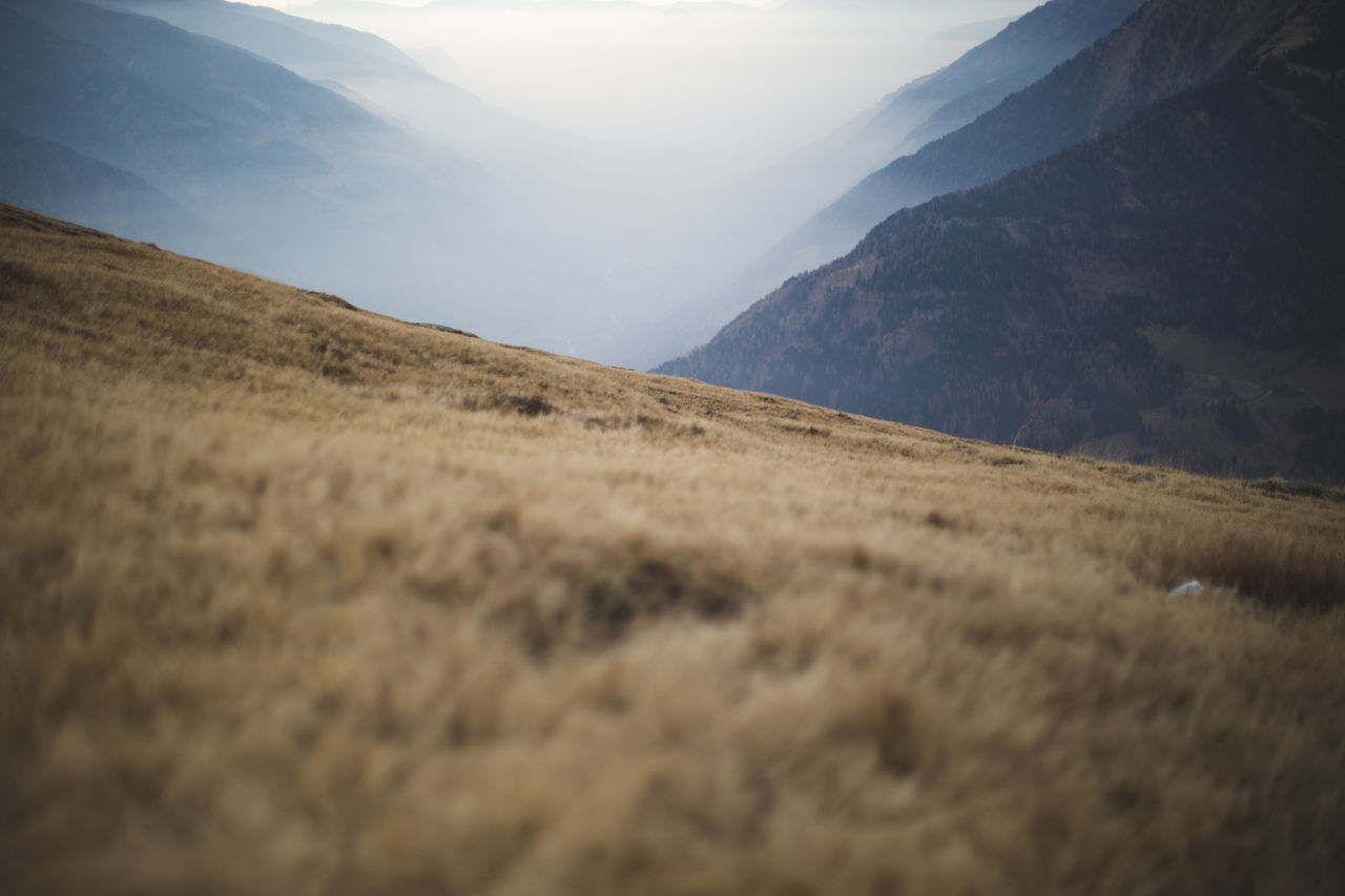 """An easy hiking trip in the Passeier Tal, looking in the direction of Meran."""
