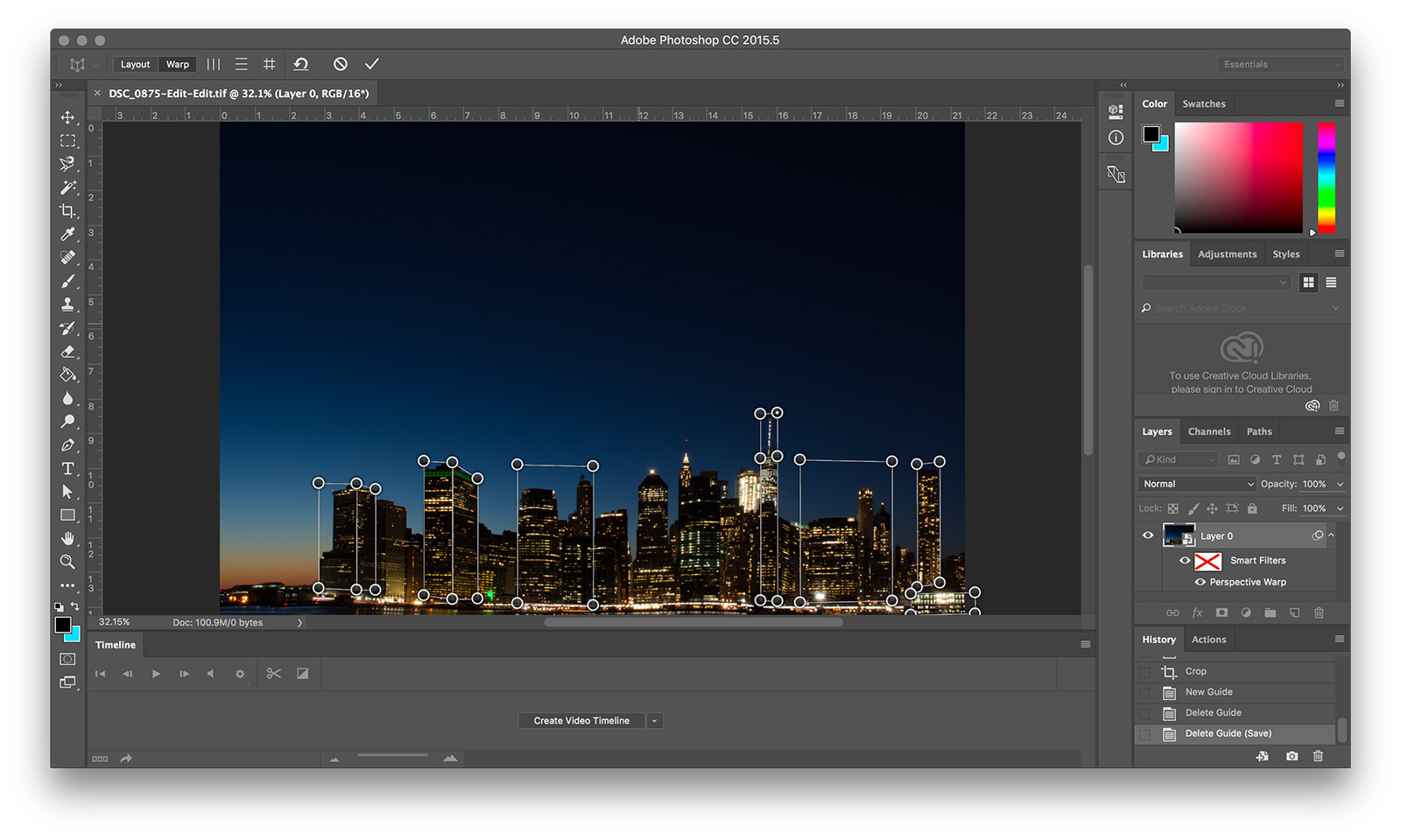 Photo Editing: Using Photoshop's Perspective Warp To Fix Distortion and Lens Errors