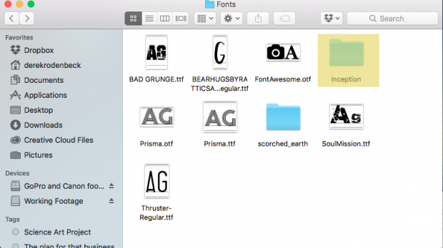 How to Install Fonts on a Mac - CreativeLive Blog