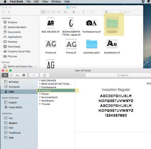 How to install fonts on a mac creativelive blog how to install fonts on a mac ccuart Images