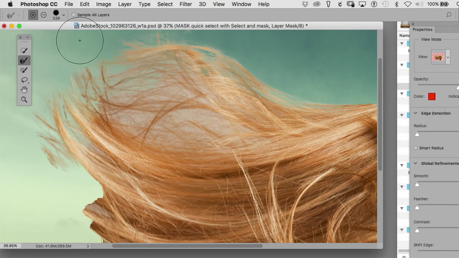 Photoshop hintergrund transparent maske