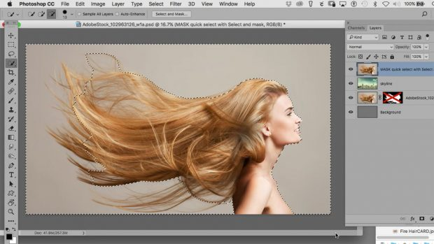 How to mask hair in photoshop - quick tips to save you time