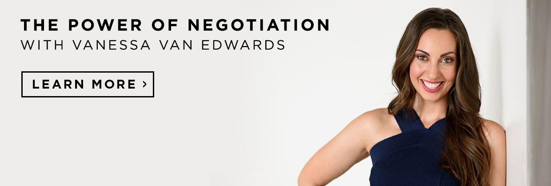 Master negotiation skills. Learn more.