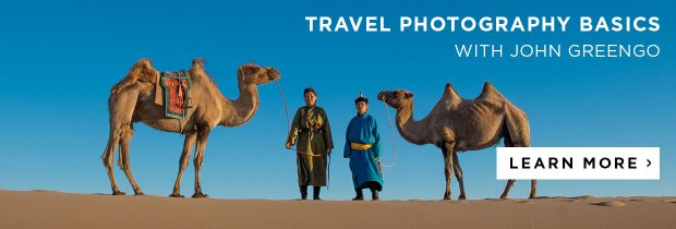 Learn travel photography with John Greengo