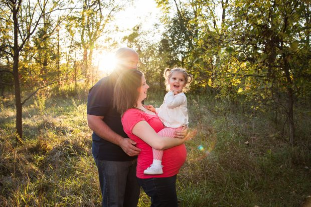 Tips for authentic family posing.