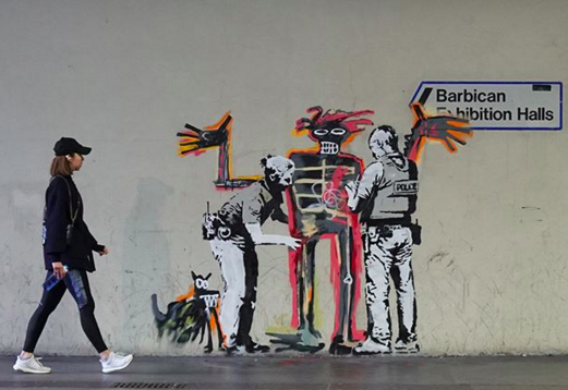 Banksy made the list of Top 20 Designers and Artists to Follow on Instagram.