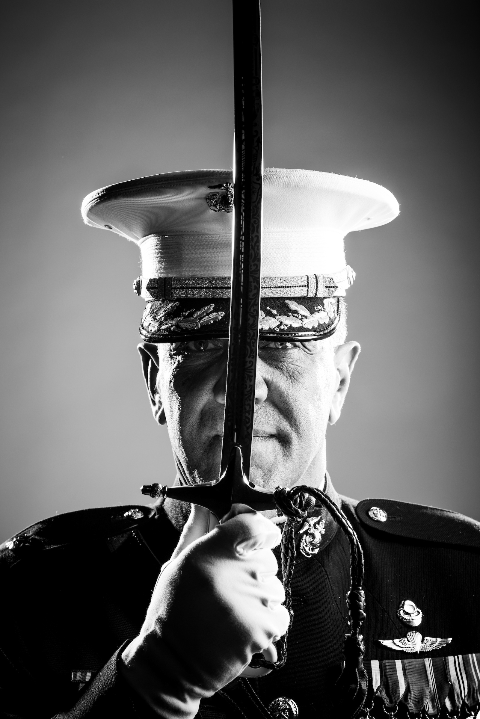 A portrait from Veterans Portrait Project by Stacy Pearsall.